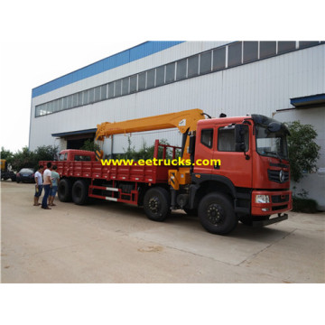 Dongfeng 8x4 16ton Truck Mounted Cranes