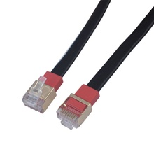Slim Flexible Cat7 Shielded Ultra-Flat Ethernet Cable