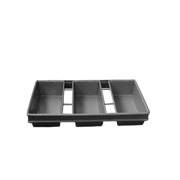 3 Strap Glazed Loaf Pan
