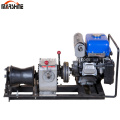 1Ton Gas Powered Winch Portable Cable Pulling Machine