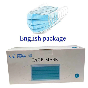 Hot Selling Disposable Safety Surgical Mask