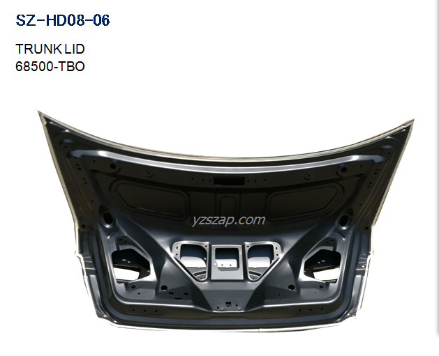 CP2 Trunk lid inside