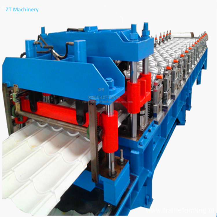 Glazed roofing tile roll forming equipment