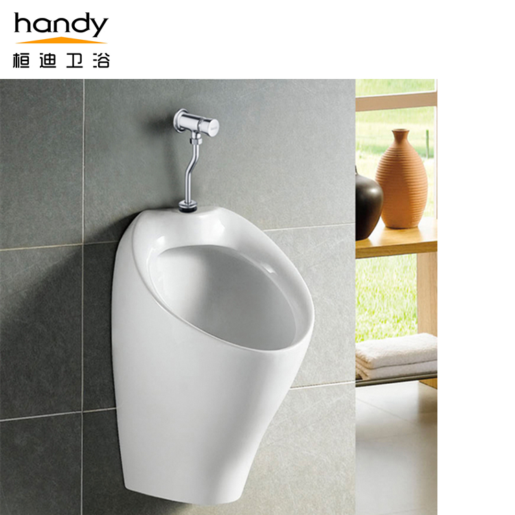 Hand Push Delay Urinal Flush Valve