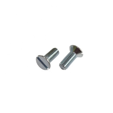 Stainless/Steel slotted countersunk head screws