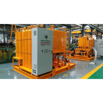 Hydraulic system of refuse incinerator