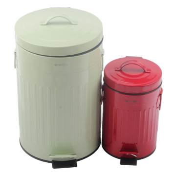 stainless steel Trash Can with Foot Pedal