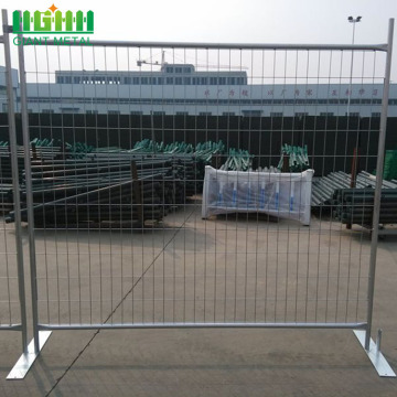 Canada Used Metal Temporary Fence Panels Hot Sale