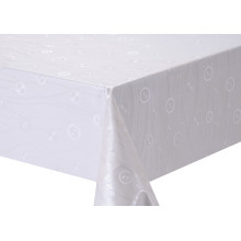 Solid Embossed Fabric Tablecloth Zara
