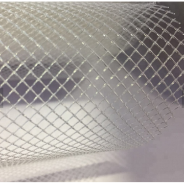 Food Grade Extruded Hard Plastic Flat Diamond Mesh
