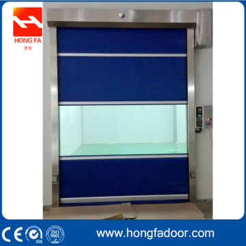 Internal High Speed Rolling Warehouse PVC Door