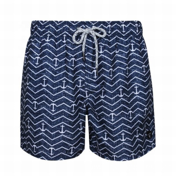 Printed Shorts Swimwear for Mature Men Swim Shorts