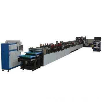 high speed square bottom bag machine
