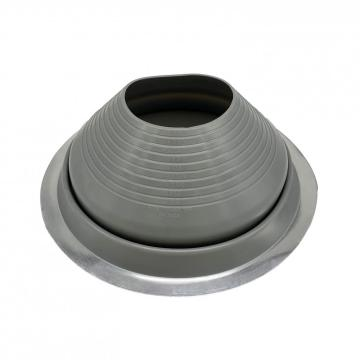 Different material EPDM/silicone pipe boot for waterproofing