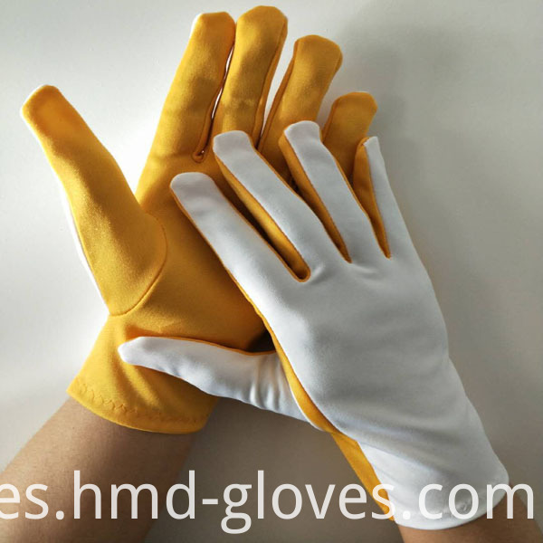Flash Gloves Yellow and White