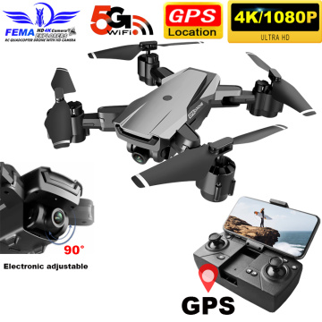 Professional Quadcopter drone Gps 4K camera 1080P 5G WIFI FPV 20 Minutes Long Flight Smart Following RC Drones VS SG907