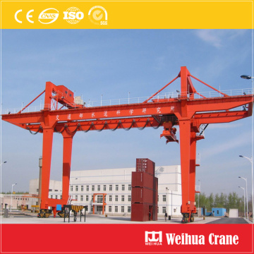 Rail-mounted container gantry crane