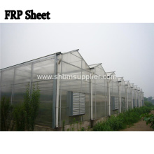 UV-Resistant Anti-Corrosion Transparent FRP Flat Sheet