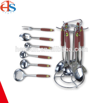 Cooking tools slotted spoon ladle skimmer fork 6pcs