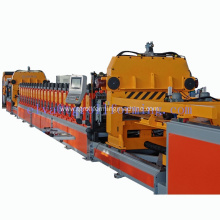 Steel silo roll forming machine