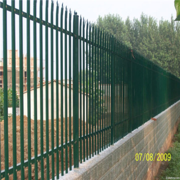 Factory direct supply ISO9001 palisade fence