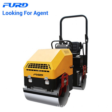 1500kg Full Hydraulic Vibratory Road Roller Compactor Machine