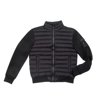 nylon shell fabric Male`s padding jacket