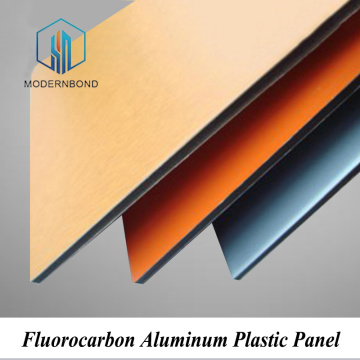 PVDF Coated Fluorocarbon Aluminum Plastic Panel Sheet