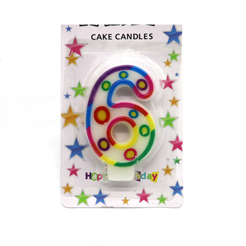 Party Decoration Event&Party Type Birthday Number Candle