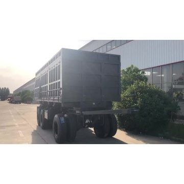 Stake Full Trailer With Turntable Drawbar