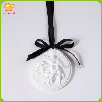 2018 New LXYY MOULD Fresh Olive Candle Mould Aroma Mould Dilatation Stone SOAP Silicone Mould
