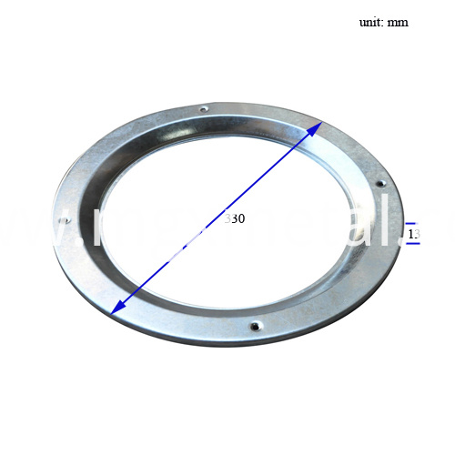 VLFR0005 Round Security Vision Frame Dimension