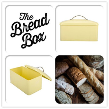 Typhoon Metal Bread Bin with Lid