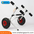 Onefeng silver aluminum folding kayak trolley