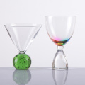 Creative Colorful Cocktail Glass Bubble Ball Novelty Martini Glass