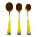 10pc Oval makeup Brush