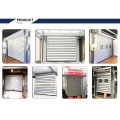 High speed spiral sectional door door metal door