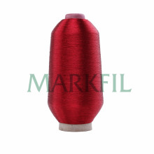 MS type metallic yarn black for embroidery