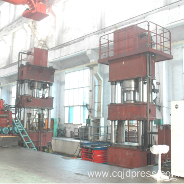 Four Columns Metal Die Forging Hydraulic Press