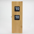 Mini Bamboo Flip Clock