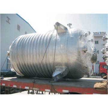 Stainless steel oil heating pyrolysis reactor