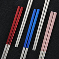stainless hotel restaurant gift box chopsticks set