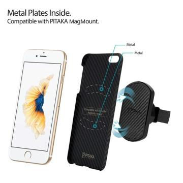 Slim Fit iPhone6S PITAKA Magcase Aramid Fiber 4.7
