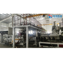 PROFESSIONAL PVC FLOORING SHEET MACHINE LINE