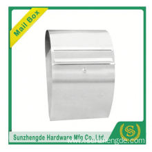 SMB-006SS Top Quality Free Standing Office Cast Aluminum Mailbox