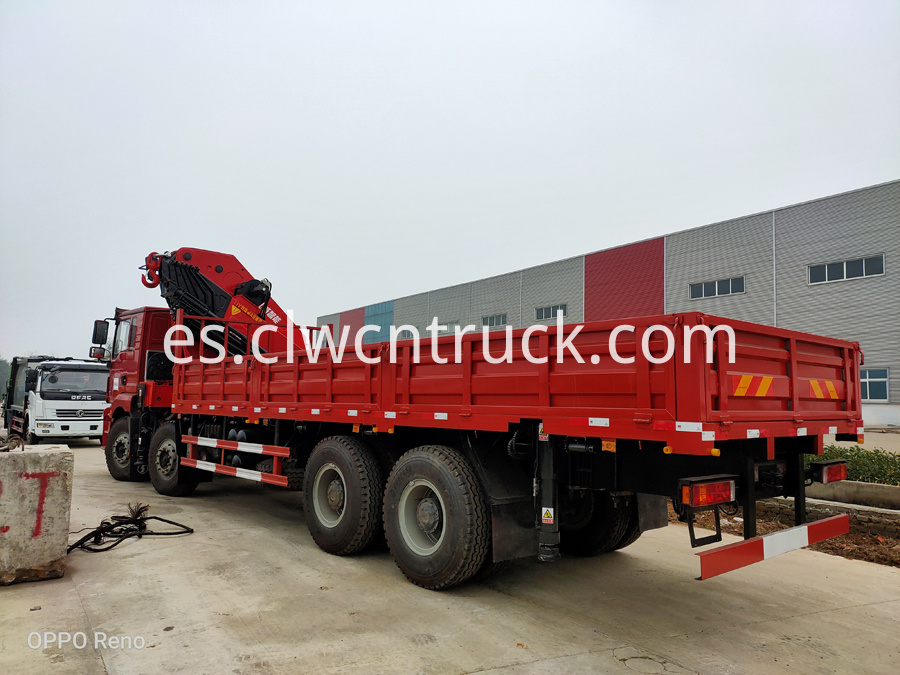 folding crane truck pictures