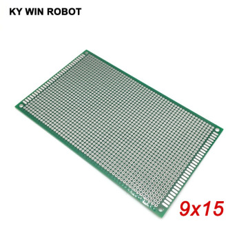 1pcs 9x15cm 90x150 mm Double Side Prototype PCB Universal Printed Circuit Board Protoboard For Arduino