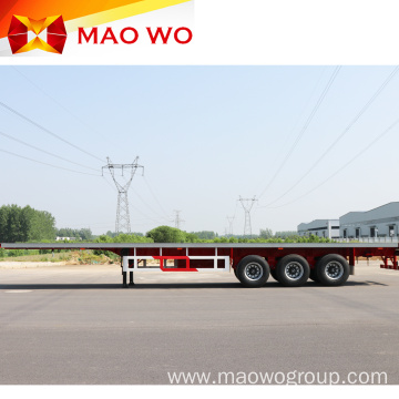 Professional 40 ft Flatbed Container Semi Trailer