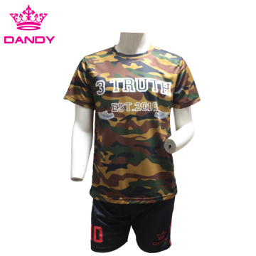 Sublimated Camo soccer jerseys