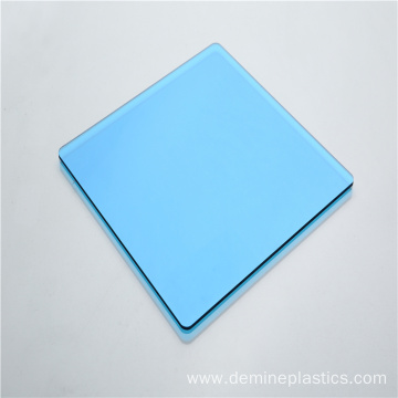 Transparent color blue polycarbonate solid sheet